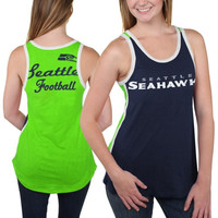 Seattle Seahawks Women's Home Game Tank Top - College Navy