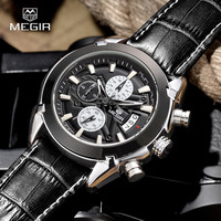 MEGIR Quartz Chronograph Military Watch