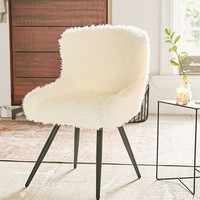 Stella Faux Fur Chair | Urban Outfitters