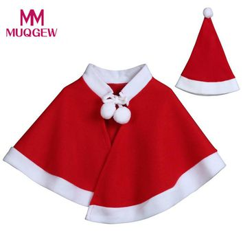 Hot Sale Cute Kids Childrens' Christmas Costume Cosplay Clothes Fashion Cape Cloak for Baby Boys Girls Kids Clothes