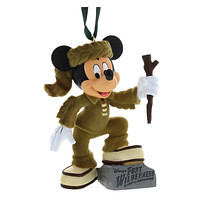 Disney Parks Christmas Ornament Fort Wilderness Mickey Mouse New with Tags