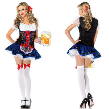 Waitress Cosplay Anime Cosplay Apparel Holloween Costume [9220883076]