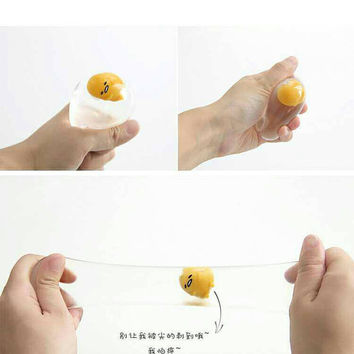 Gudtama stress ball (mr egg)