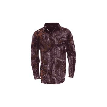 Cape Back Long Sleeve Shirt Realtree Xtra Camo Medium
