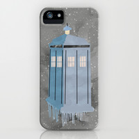 The Police Box iPhone & iPod Case by Anthony Londer | Society6