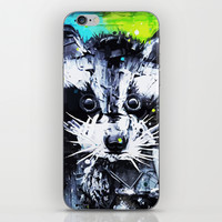 RACCOON iPhone & iPod Skin by Maioriz Home
