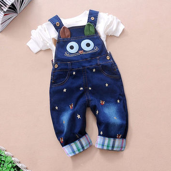 Rompers animal jeans