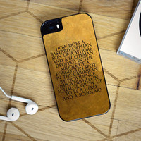 Hamilton Quotes iPhone 6S Case  Sintawaty.com