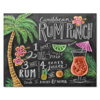 Rum Punch Recipe - Print & Canvas