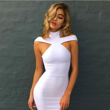 Lily White Bandage Dress