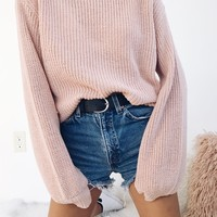 Belle Sweater - Pink