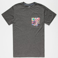VOLCOM Mike Parillo Mens Pocket Tee | Solid & Stripe Tees