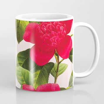 Botanical Light Kiss Mug by cadinera