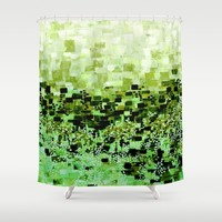 :: Jungle Compote :: Shower Curtain by :: GaleStorm Artworks ::