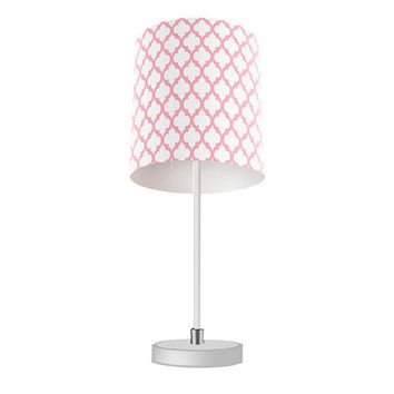 Quatrefoil Pattern Table Lamp