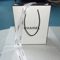 CHANEL GIFT BAG WITH CHANEL RIBBON & CHANEL TISSUE PAPER BRAND NEW