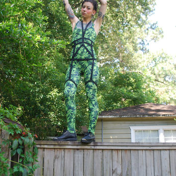 Sweet Leaf Catsuit