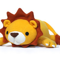 Lucky Lion Pattern PDF Tutorial Sewing Plush