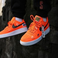 Just Do It Nike Air Force 1 Low Orange Ar7719 100 | Best Deal Online