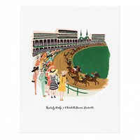 Kentucky Derby Art Print by RIFLE PAPER Co. | Made in USA