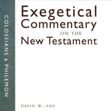Colossians and Philemon: Zondervan Exegetical Commentary on the New Testament (Zondervan Exegetical Commentary on the New Testament)