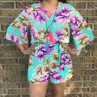 Paradise floral romper from PeaceLove&Jewels