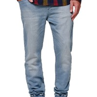 Bullhead Denim Co. Light Jogger Jeans - Mens Jeans - Blue