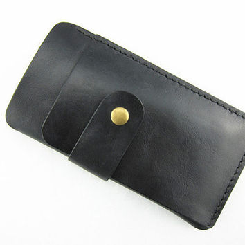 Leather pouch cover case for iPhone 4 ipod touch ,iphone 4s sleeve leather iPhone 4s leather sleeve ,iPhone 4 wallet with card holder black