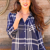 Levade Button Up Top