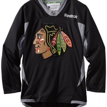 NHL Chicago Blackhawks Practice Jersey, Black