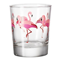 SOMMARFINT Glass, flamingo - IKEA