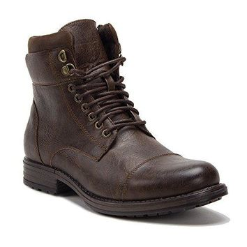 New Men's D-711 Warm Fleece Lined Army Combat Lace Up Boots
