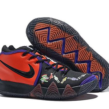 """Nike Kyrie 4 EP """"Day of the Dead"""" Basketball Shoe"""