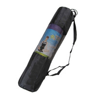 Fine Nylon Yoga Mat Bag Carrier Mesh Center Black W PTN6 = 1932087044