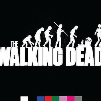 The Walking Dead Zombie Cemetery Vinyl Sticker Decal For Car Windows Laptop
