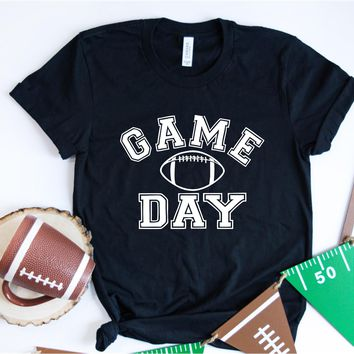 Game Day - Football Tee - Ruffles with Love - Unisex Tee