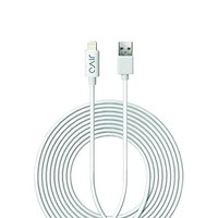 iXCC 10ft Extra Long Apple MFi Certified Lightning 8pin to USB Charge and Sync Cable for iPhone SE/5/5s/6/6s/Plus/iPad Mini/Air/Pro -White