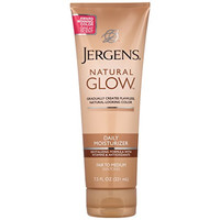 Jergens Glow Revitalizing Body Lotion, Fair to Medium, 7.5 Ounce