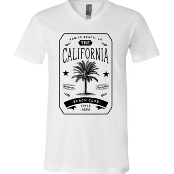 California Beach Club Asst Colors V-Neck