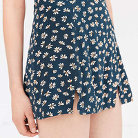 Cooperative Kendric Notch-Hem Mini Skirt - Urban Outfitters