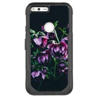 Purple Flowers with Black Background Photography OtterBox Commuter Google Pixel XL Case