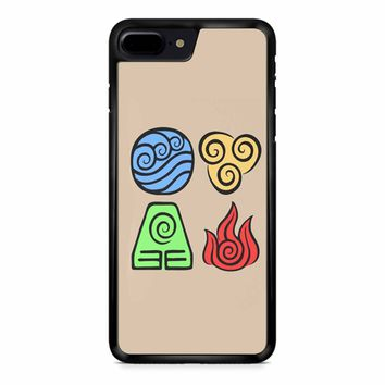 Avatar The Last Airbender Symbols iPhone 8 Plus Case