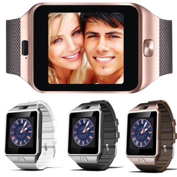 Smart Watch Digital Clock with Men Bluetooth Electronics SIM Card Smartwatch For Camera Android Phone Wearable Devices