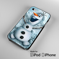 Disney frozen, olaf funny iPhone 4 4S 5 5S 5C 6, iPod Touch 4 5 Cases