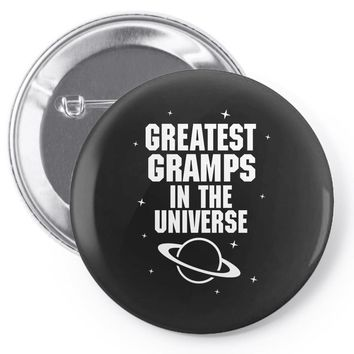 Greatest Gramps In The Universe Pin-back button