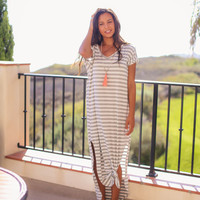 Go with the Flow Maxi - Grey