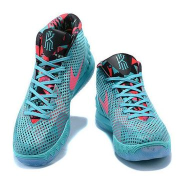 2018 Nike Kyrie 1 Christmas Day PE Turquoise Teal Hyper Pink