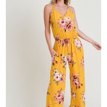 Floral Rayon Jumper
