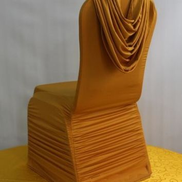 chair cover wrinkle with curtain luxury wedding chair cloth