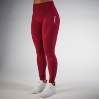 Gymshark High Waisted Seamless Legging - Beet Marl